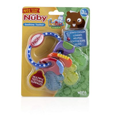 Best Toys 3 Month Olds Nuby Ice Gel Teether Keys Package