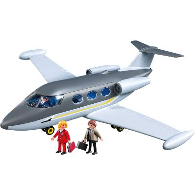 playmobil private jet design