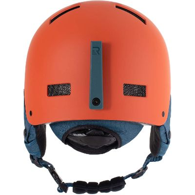 retrospec traverse H1 kids ski helmet back