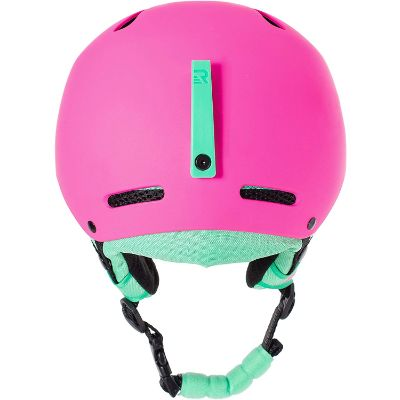 retrospec traverse H3 kids ski helmet back