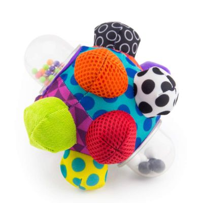 Sassy Developmental Bumpy Ball Cheap Baby Toys side view