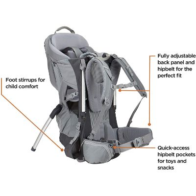 Thule Sapling Hiking Baby Carrier Features