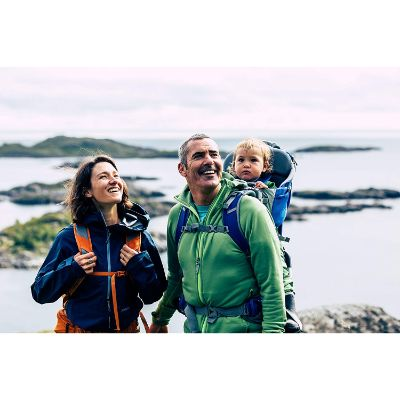 Thule Sapling Hiking Baby Carrier family