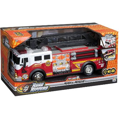 toys that start with f fire truck box