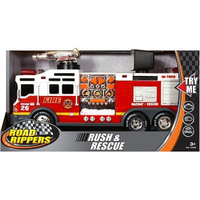 toys that start with f fire truck package