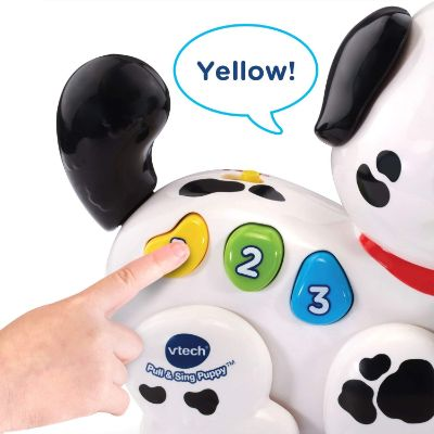VTech Pull and Sing Puppy Cheap Baby Toys buttons