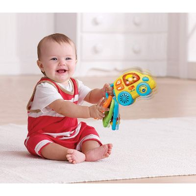Toys for 3 Month Olds VTech Beep and Go Keys Infant
