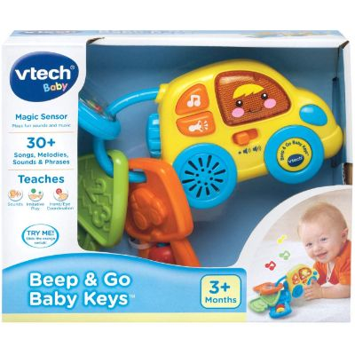 Toys for 3 Month Olds VTech Beep and Go Keys Box