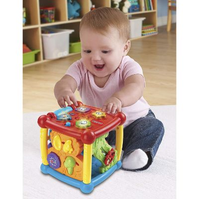 9 Month Old Toys VTech Busy Learners Cube Light Up