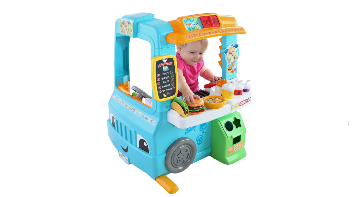 Fisher Price Laugh & Learn Servin' Up Fun Food Truck play station