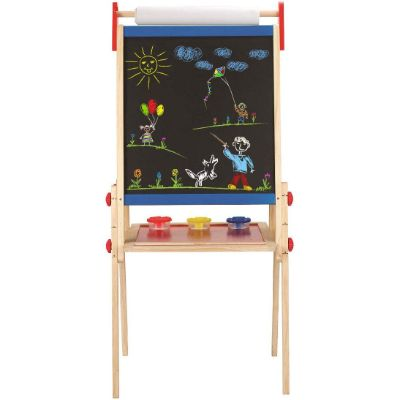 hape easel toys that start with e wooden