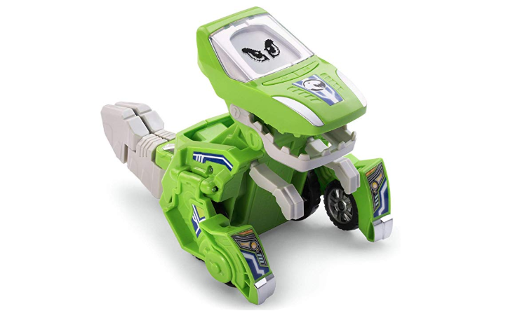 VTech Switch and Go Dinos Silver the T-Rex Green