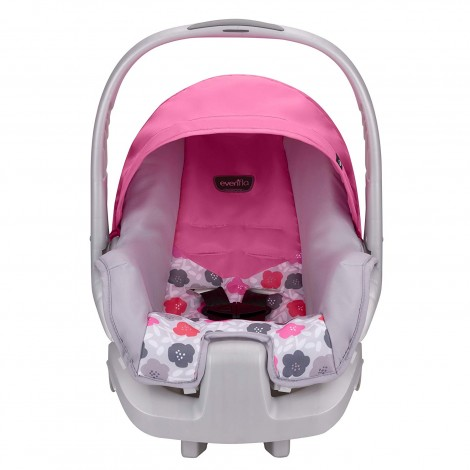 evenflo nurture infant preemie car seat front view