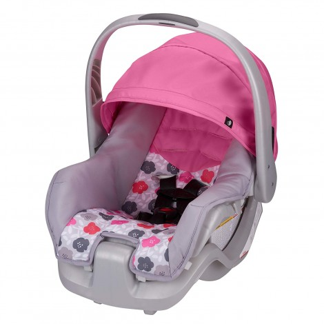 evenflo nurture infant preemie car seat pink