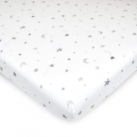american baby company printed cotton pack n play sheets