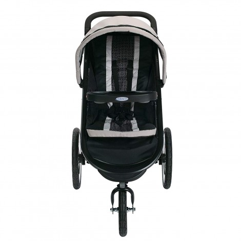 graco fastAction fold gotham all-terrain stroller front view