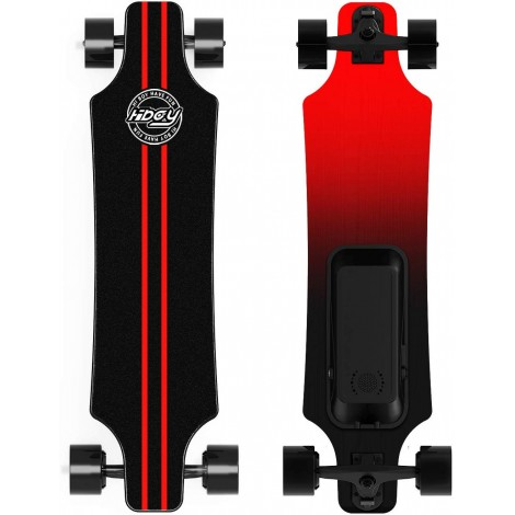 hiboy with wireless remote electric skateboard red