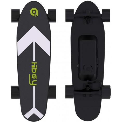 hiboy with wireless remote electric skateboard black