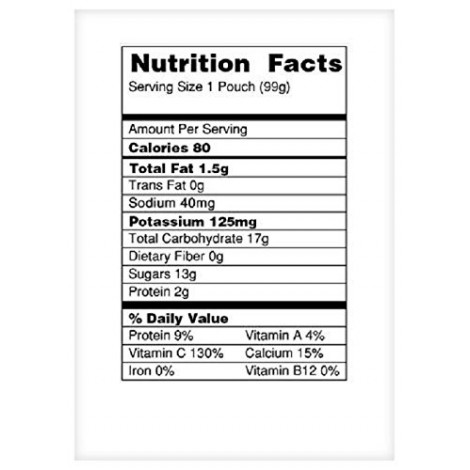 beech-nut breakfast baby yogurt nutrition facts