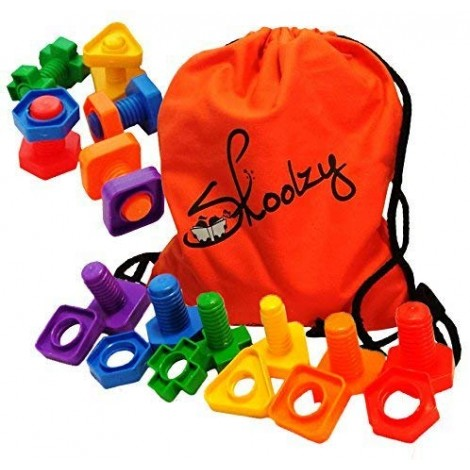 skoolzy nuts and bolts montessori toys bag