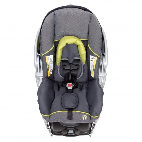 baby trend EZ flex loc infant preemie car seat front view