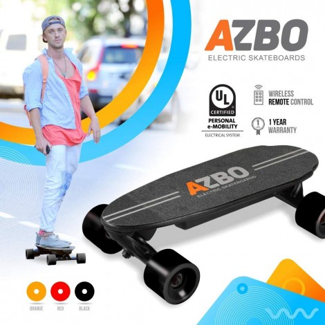 portable mini with remote control electric skateboard