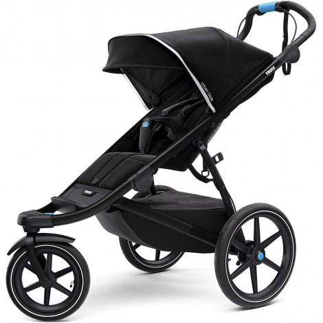 thule urban glide all-terrain stroller black
