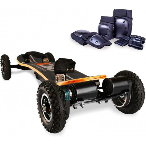 azbo off road with remote control electric skateboard