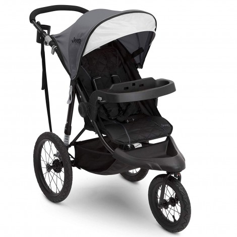 jeep classic all-terrain stroller grey