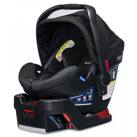britax b-safe ultra preemie car seat side view