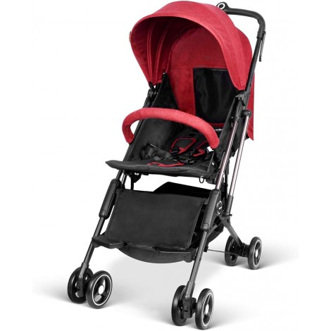 besrey airplane one step all-terrain stroller red