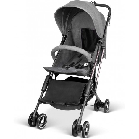 besrey airplane one step all-terrain stroller grey