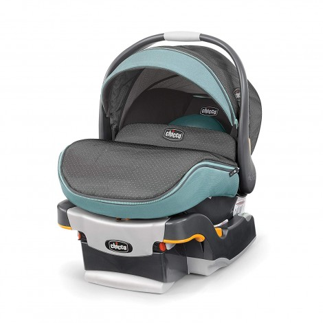chicco keyFit 30 zip preemie car seat blue and grey