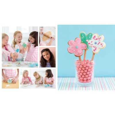 american girl baking cookbook for kids cookie flowers