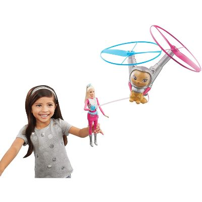 barbie galaxy doll flying toy kid