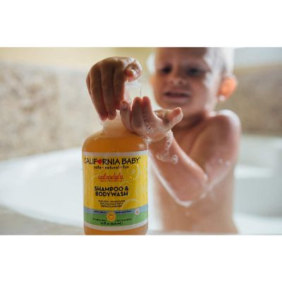 california baby calendula shampoo for kids and babies infant