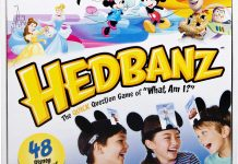 Disney Hedbanz detailed review.