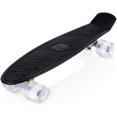enkeeo 22 inch cruiser kids skateboard side