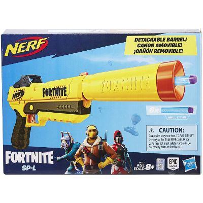 fortnite sp-L elite dart blaster nerf gun box