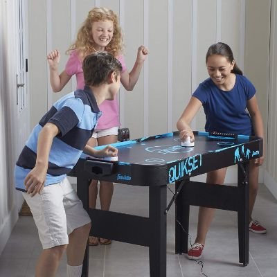 franklin sports quickset air hockey table players