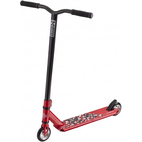 fuzion x-3 pro kids scooter red