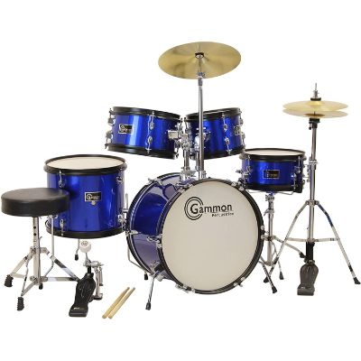 gammon 5 piece drum sets for kids and toddlers front
