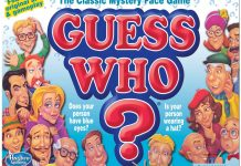 Our review of the classic Guess Who? Board Game.