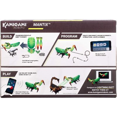 Kamigami Mantix Robot best bug toys box