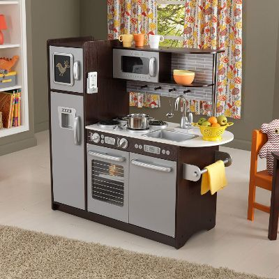 4 Little Tikes Cook 'n Store play kitchen for kids and toddlers full display