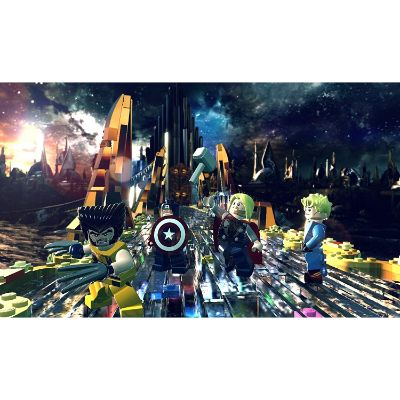 LEGO marvel super heroes xbox one games for kids scene two