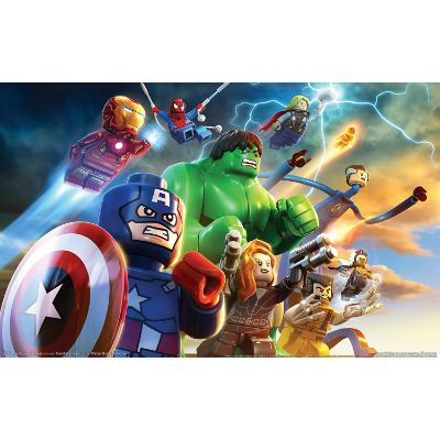 LEGO marvel super heroes xbox one games for kids scene