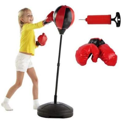 lLiberty imports sport with gloves punching bags for kids pieces