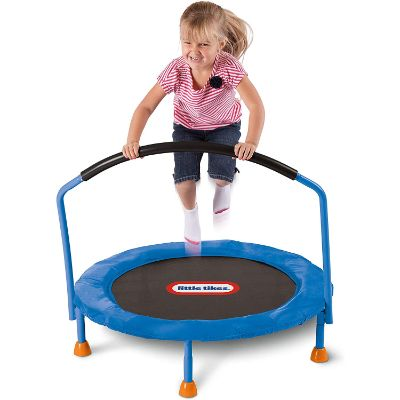 little tikes 3' trampoline play
