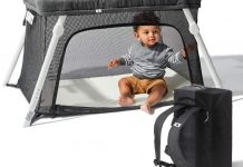 Lotus Travel Crib by Guava Family Review